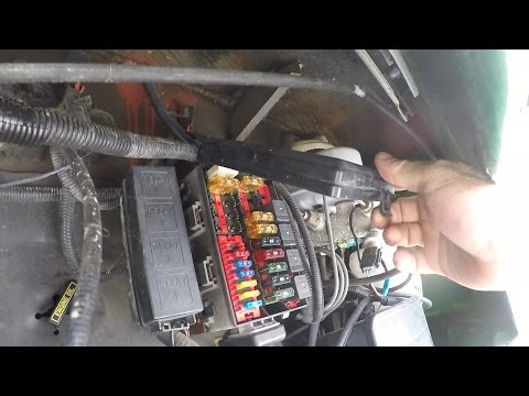 1997 F53 Chassis Fuse Box Locations - YouTubeYouTube