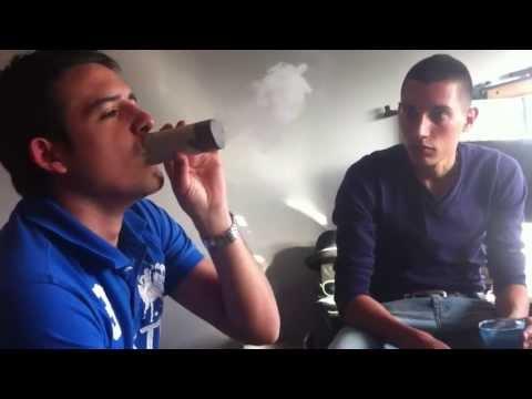 Nouvelle façon de fumer sa chicha - Hookah - YouTube