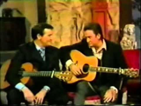 Johnny Cash & Roger Miller - King Of The Road [Johnny Cash Show]