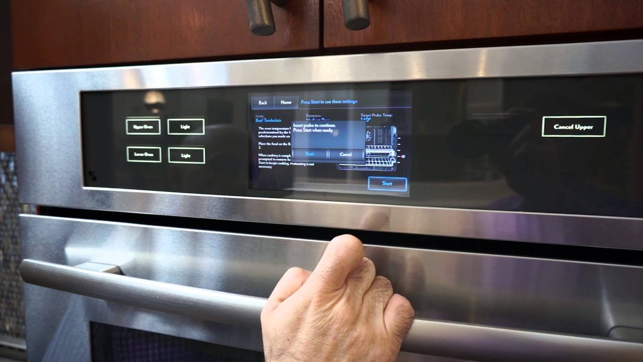 Jenn Air Wall Oven Culinary Center Guided Cooking Mode Live Demo You