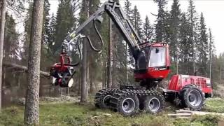 Alat Berat Mesin Penebang Pohon Canggih Kompilasi