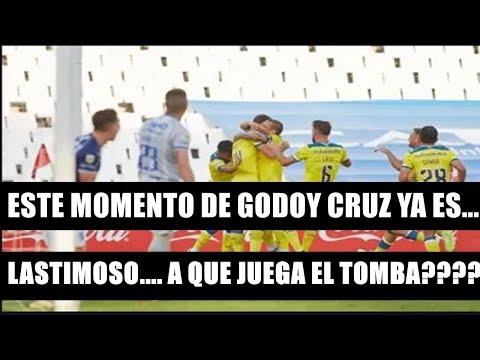 """RADIO DE MENDOZA..CANSADOS! GODOY CRUZ 0 CENTRAL 1 """"LO DE GODOY CRUZ ES...LASTIMOSO YA..."""""""