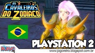 Cavaleiros do Zodíaco: Hades, a Saga do Santuário DUBLADO no Playstation 2 (Saint Seiya)