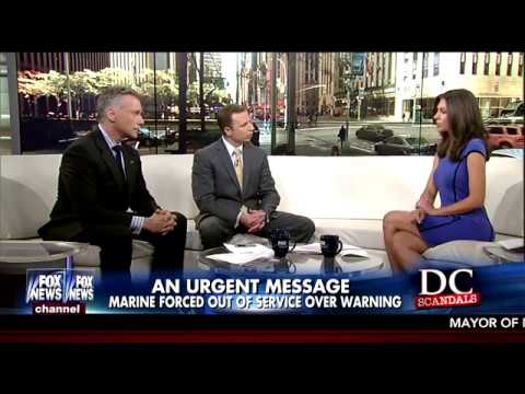 David Bruno on Fox and Friends- Discipline for a Marine to send Classified Emails? 10/15/16