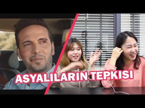 ASYALILARIN TEPKİSİ - TURKCE POP
