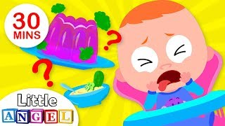 Would YOU eat Broccoli Jello? | What Would Happen If? | Nursery Rhymes by Little Angel
