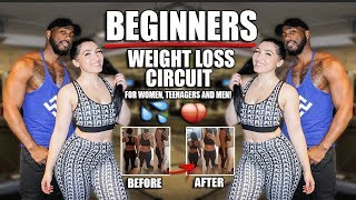 Beginners WEIGHT LOSS Workout For Women, Men And Teenagers 🍑💦