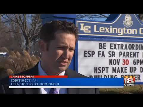 Credit Cards Stolen At Lexington School