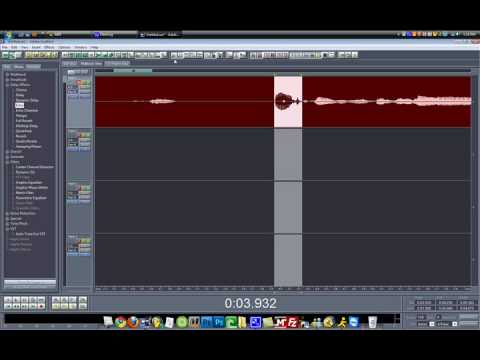 How to Make a Stutter Effect in Adobe Audition 1.5/Cool Edit Pro 2.0 ! (2010) (HD)