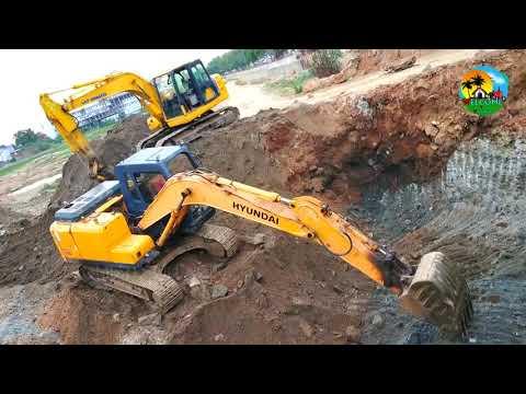 Download Excavator Bulldozer Working | jcp vandi | 2 excavator working in india | hyundai  Vs L&T excavator