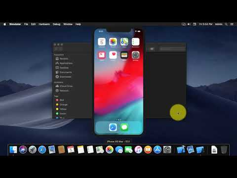 How To Install IOS Simulator On Mac OS Mojave