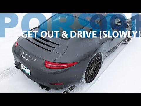 Snow Day In The Porsche 911 991