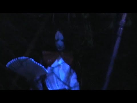 Yomiuriland haunted house walkthrough with live Japanese girl! 2008 Tokyo Japan