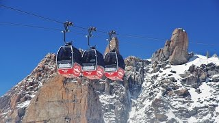 GoPromovie: Panoramic Mont Blanc, Chamonix, Aguille du midi