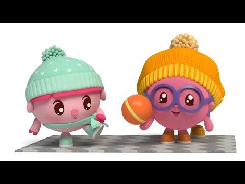 Малышарики - Все серии про Подготовку в детский сад  - Обучающий мультик для малышей