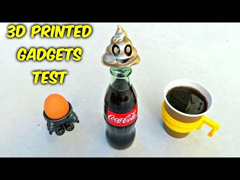 10 3D Printed Kitchen Gadgets put to the Test