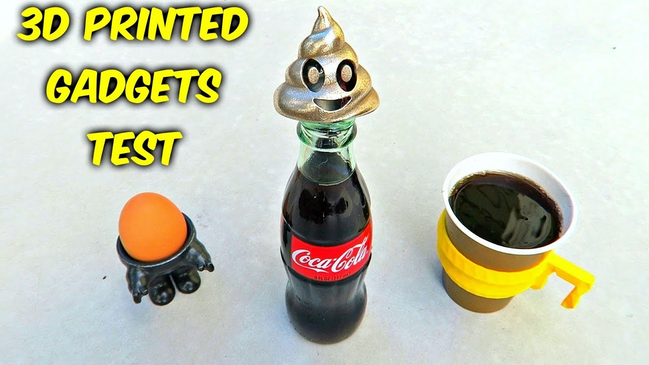 10 3d printed kitchen gadgets put to the test youtube - Where can i buy a 3d printed house ...