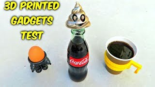 10 3D Printed Kitchen Gadgets put to the Test by : CrazyRussianHacker