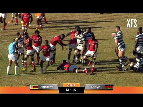 Rugby Africa Gold Cup: Zimbabwe vs Kenya