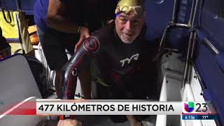 ★ PRESS REVIEW | UNIVISION MIAMI, USA | 477 MILLAS DE HISTORIA | 11/08/2018 ★