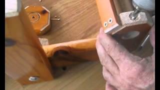 Cómo empotrar en madera un inserto roscado