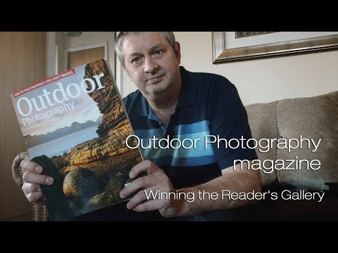 Outdoor Photography magazine...Winning the Reader's Gallery
