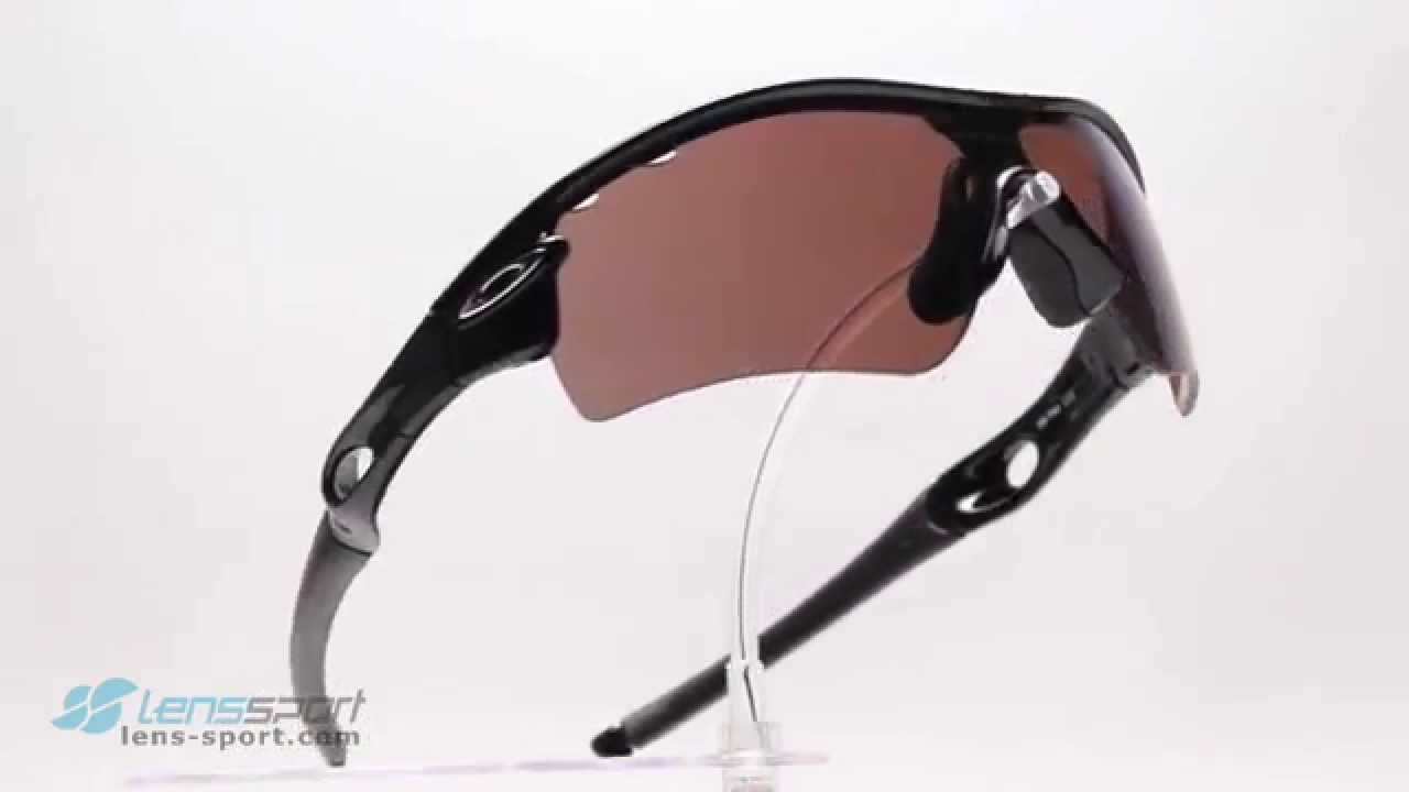 5a1680a3ca552 Gafas deportivas Oakley Radar Path Polarized Polished Black   G30 Polarized  Vented   lens-sport.com