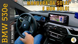 La più tecnologica mai provata! BMW 530e. PLAY da iPhone 12 MINI