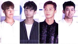박서준(Park Seo Joon)-샤이니(SHINee) 민호(Minho) 심쿵 미소 @리얼(Real) VIP…