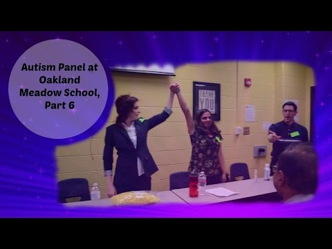 Autism Panel at Oakland Meadow School, Part 6