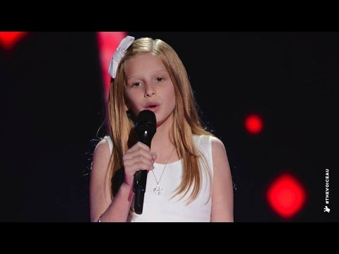 Issy Sings Tomorrow | The Voice Kids Australia 2014