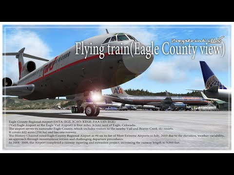 Flying train(Eagle County view)
