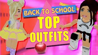 Our TOP Back To School OUTFITS! Roblox Royale High w/ Ashelyosity