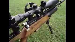 strzelanie z wiatrowki 50m airgun shooting 50m czesc 1