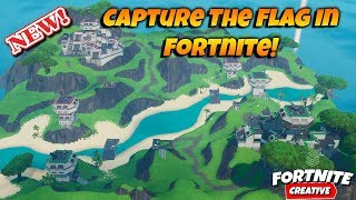 Capture The Flag Gamemode In Fortnite! NEW CAPTURE MODE IN CREATIVE!