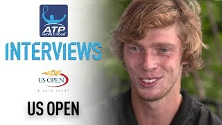 Rublev Happy With 2R Upset Over Dimitrov US Open 2017 thumbnail