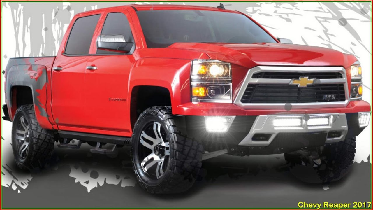 Chevy Reaper 2017 Silverado Interior Specs And Reviews