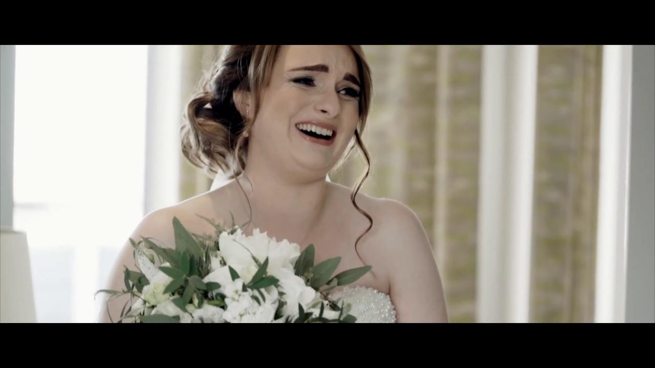 Fiona + Cairn   Best Friend Sings Bride Down The Aisle   Waterside Hotel Wedding Film