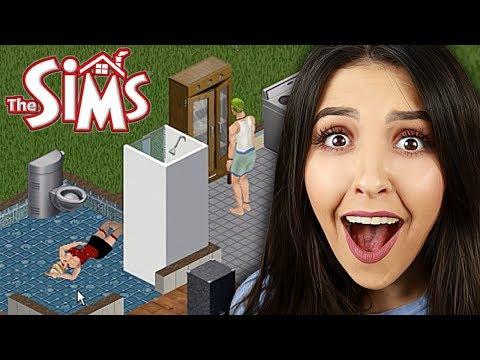 JOGANDO O PRIMEIRO THE SIMS DE TODOS! (The Sims 1)
