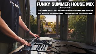 Funky Summer House Mix | With Tracklist | Vinyl Mix