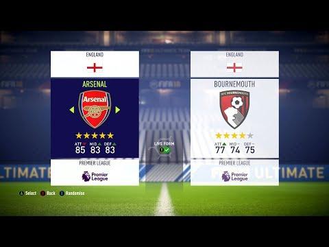 FIFA 18 - English Premier League Ratings & Kits