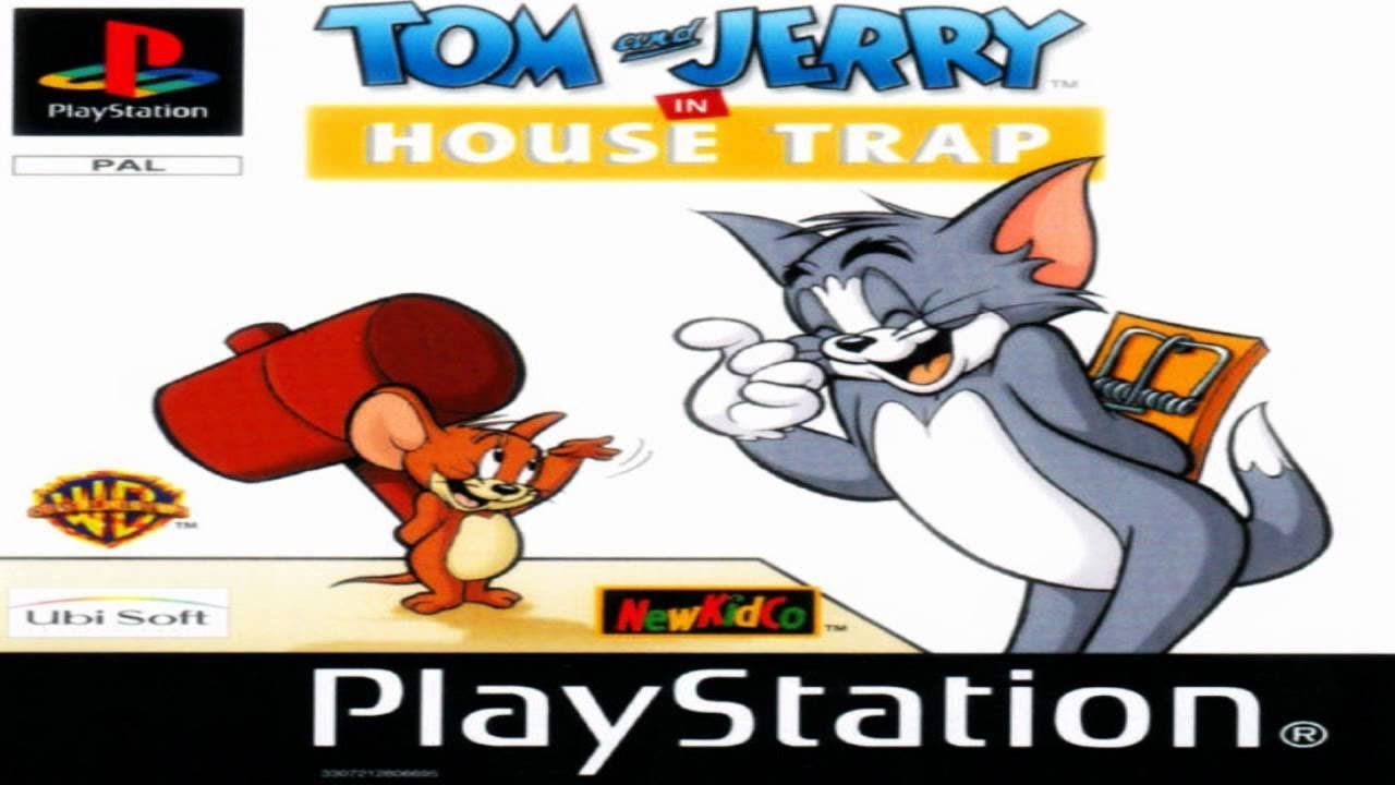 Tom and Jerry in House Trap (PS1) Walkthrough Part [FULL] HD
