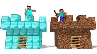 ZENGİN VS FAKİR HAYATI #13 - Minecraft