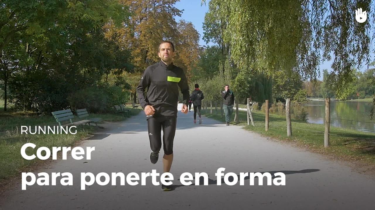 C mo ponerse en forma corriendo running