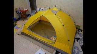 палатка Jack Wolfskin Skyrocket II  обзор