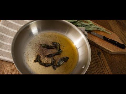 Sage Brown Butter Sauce - Cook Taste Eat