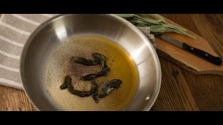 Sage Brown Butter Sauce - Cook Taste Eat