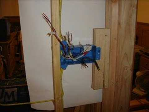 hqdefault 4 gang switch box youtube 4 gang outlet wiring diagram at gsmx.co