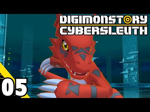 Digimon Story: Cyber Sleuth Part 5 Guilmon! PS4 Gameplay Walkthrough