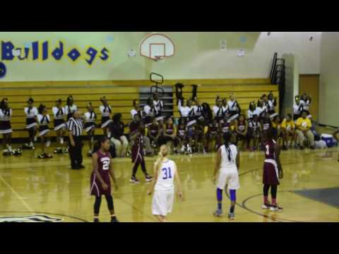 Champion Lady Charges vs Chamblee Middle School Girls - 11/9/16